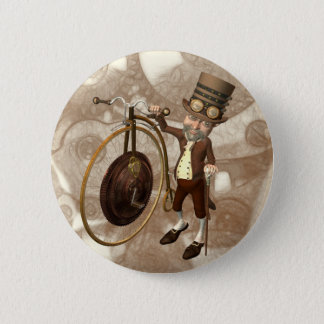Badges Quart de penny Steampunk de penny