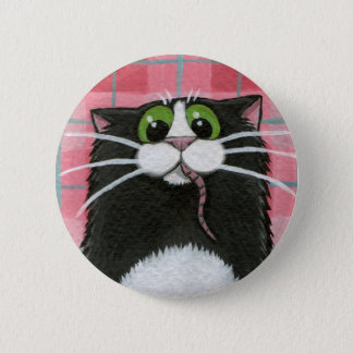 Badges Quelle souris ? Bouton lunatique de chat