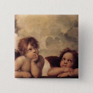 Badges Raphael, ange de Sistine