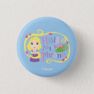 Badges Rapunzel - cheveux au trône