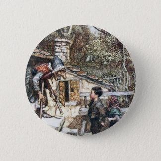 Badges Rassemblement de Hansel et de Grethel la sorcière