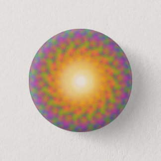 Badges Rayon de soleil Trippy d'arc-en-ciel