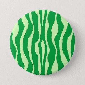 Badges Rayures de zèbre - nuances de vert de chaux