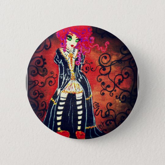 Badges red baroque