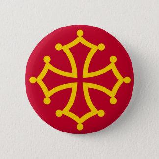 Badges Région française de pays de la France de drapeau