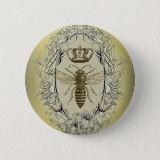 Badges reine des abeilles chic de couronne de victorian