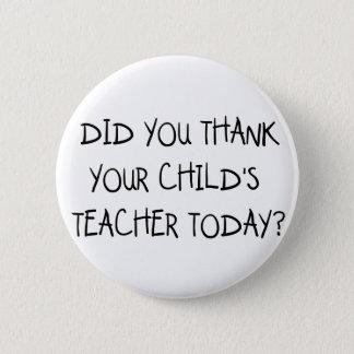 Badges Remerciez le professeur de votre enfant
