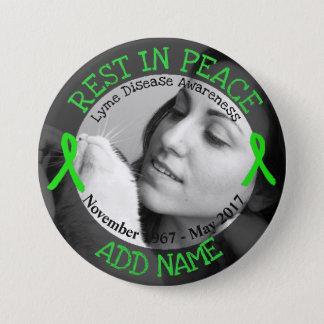 Badges Repos dans le bouton personnalisé de la maladie de