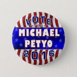 Badges Républicain 2016 de président élection de Michael