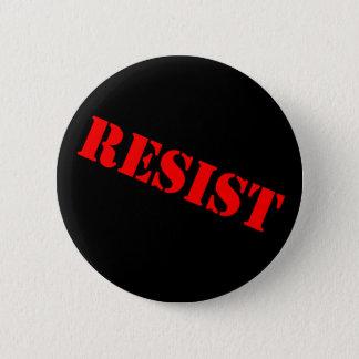 Badges RÉSISTEZ au bouton-angle de BOUTON de POCHOIR