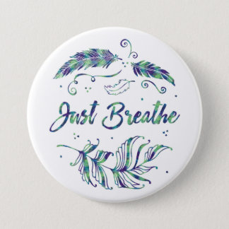 Badges Respirez juste - le bouton calme