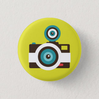Badges Rétro bouton de talent d'appareil-photo instantané