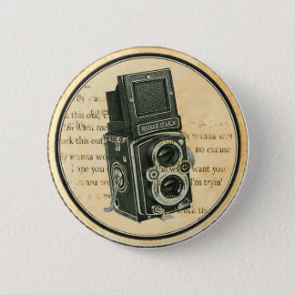 Badges Rétro Pin vintage de bouton de photographe