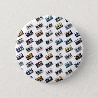 Badges Rétros enregistreurs à cassettes de musique