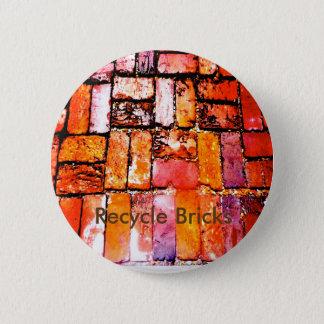 Badges Réutilisez le Pin de briques