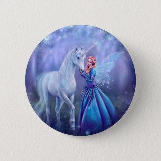 Badges Rhiannon - licorne et fée