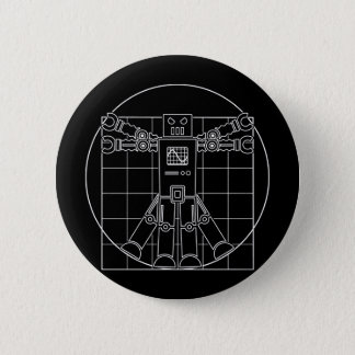 Badges Robot de da Vinci Vitruvian