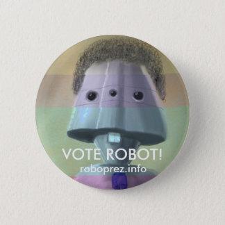Badges Robot de vote ! Bouton élégant