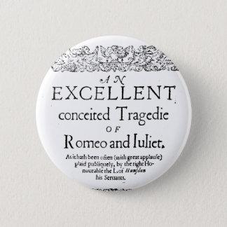 Badges Romeo et Juliet