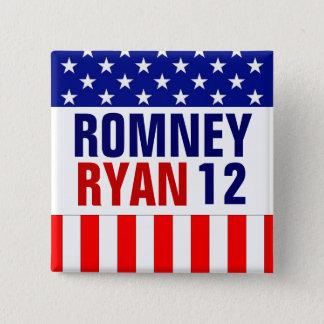 Badges Romney Ryan 2012