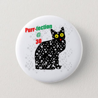 Badges Ronronnement-fection de chat de la neige 30