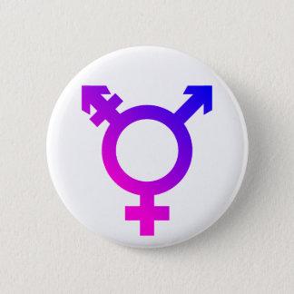 Badges Rose/bleu de symbole de Trans*