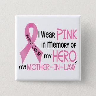 Badges ROSE de cancer du sein DANS la MÉMOIRE de MA