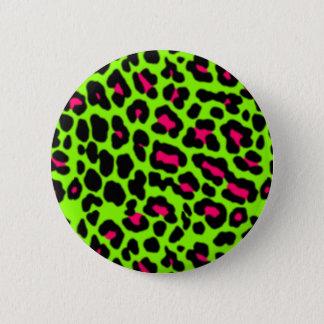 Badges Rose et Pin de léopard de chaux