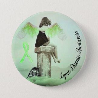 Badges Ruban de conscience de la maladie de Lyme et