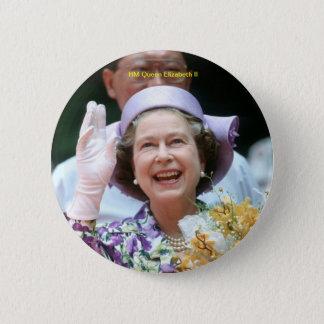Badges S.M. la Reine Elizabeth II-Hong Kong-1987