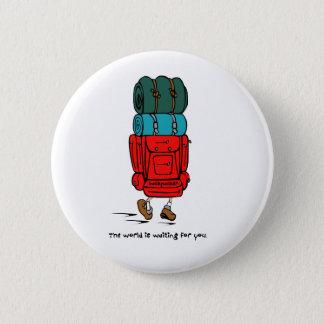 Badges Sac à dos plus grand que le randonneur