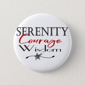 Badges Sagesse de courage de sérénité