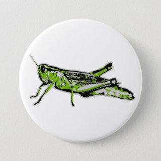 Badges Sauterelle de vert d'art de bruit