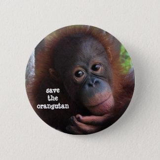 Badges Sauvez les orangs-outans !