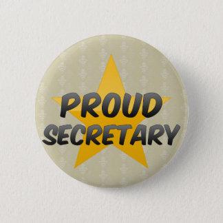 Badges Secrétaire fier