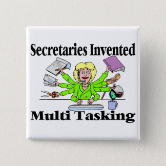 Badges Secrétaire multi de tâche