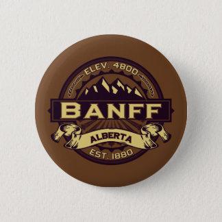 Badges Sépia de logo de Banff