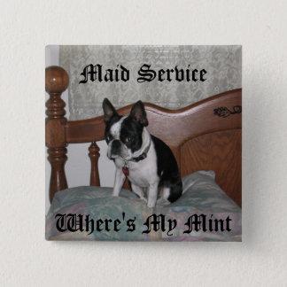 Badges Service de domestique