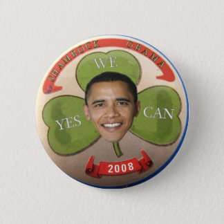 Badges Shamrock Obama 2008