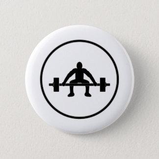 Badges Signe d'ascenseur de poids