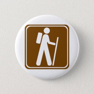 Badges Signe de route de randonnée