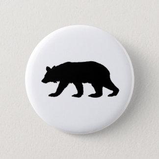 Badges Silhouette d'ours noir