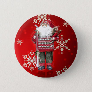 Badges Ski Père Noël
