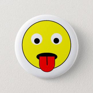 Badges Smiley de langue