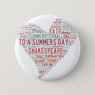 Badges Sonnet 18 de Shakespeare