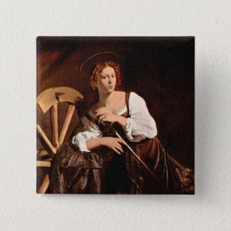 Badges St Catherine de l'Alexandrie par Caravaggio