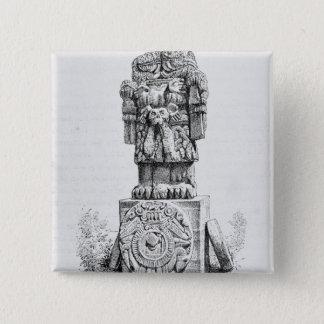 Badges Statue de la déesse Coatlicue