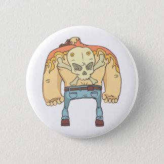 Badges Style tatoué de bandes dessinées décrit par