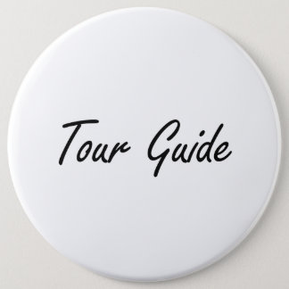 Badges Système de travail artistique de guide touristique
