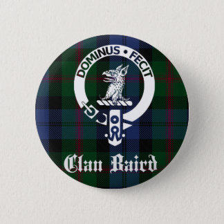 Badges Tartan de crête de Baird de clan